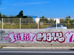 Graffiti in Barcelona 2013 (kami68k -all over-) Tags: barcelona 2015 graffiti illegal bombing chrome ninia maly