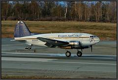 """N7848B Everts Air Cargo """"Dumbo"""" (Bob Garrard) Tags: n7848b everts air cargo dumbo curtiss c46r commando usaaf c46a 4347201anc panc"""