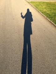 Ola! (francesbean) Tags: lisboa lisbon portugal europe travel 2016 travel2016 park belem shadow iphone iphonephoto iphone6