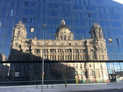 Reflections (18mm & Other Stuff) Tags: building iphone reflection liverpool