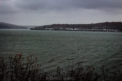 storm @moraine (david_sharo) Tags: nature waterscape moraine landscape weather collection state pa pennsylvania winter