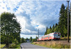 Norwegian summer skies (Nic Joynson) Tags: gjøvik oslosentral 218 stryken class69