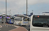 Calais line up (Vee living life to the full) Tags: leger travel touring holiday nikond300 calais refugees makeshift border control traffic chaos checks hotel drivers driving suitcases luggage entrance happy home people officers controllee porters