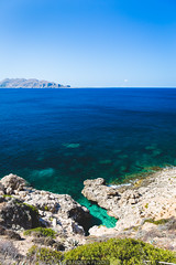 Blue bay (Nicola Pezzoli) Tags: levanzo sicilia sicily island egadi summer sea water colors nature canon tourism blue bay favignana