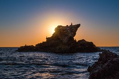 The Rock (Eric Gail: AdventureInFineArtPhotography) Tags: corona del mar seaside beach sunset ericgail adventureinfineartphotography canon 70d