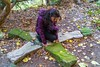 Katya - Madara Caves 001 (Chrisdevillio) Tags: girl bulgaria madaracaves varna cold madara katya shooting nature beautifulwoman stones rocks shumen bulgarien bg