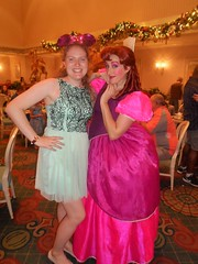 Disney World 2016 (Elysia in Wonderland) Tags: disney world orlando florida elysia holiday 2016 grand floridian resort hotel 1900 park fare cinderella dinner dine dining plan stepsister anastasia pink lucy
