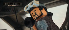 Rogue... rogue one. (Brick Builder Watts) Tags: rogue one a star wars story bodhi rook riz ahmed custom painted lego minifigure