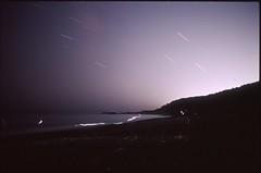 (✞bens▲n) Tags: pentax lx fa 31mm f18 limited film slide provia 100f japan shizuoka night longexposure beach fireworks dark stars water