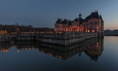 Chteau de Vaux le Vicomte (Didier Ensarguex) Tags: castle didierensarguex 5dsr chteau canon heurebleue architecture 1635 illuminationdenoel vauxlevicomte 77