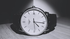 My watch (Andrs Rossi) Tags: black white clock watch minute second howr day time old style flickr