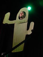 Weirdos 09/12/16: A Cactus (Diamond Geyser) Tags: leicestersquaretheatre weirdos mybigfatweirdoschristmaswedding comedy comedian comic onstage show panto pantomime december cactus