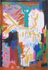 #1431 (sariart2) Tags: original acrylic paper painting abstract modern colorful bright bold neon art sari noy azaria