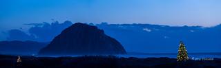 Morro Rock at Christmas (Explored)