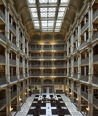 George Peabody Library, Johns Hopkins University, Baltimore, MD (Iris Speed Reading) Tags: world latinamerica southamerica beautiful us amazing cool asia europe top library libraries united most states coolest inspiring speedreading