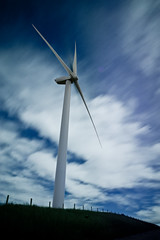 Renewable Energy (Chilla 88) Tags: sky motion blur glass windmill clouds energy long exposure wind farm welding windmills turbine renewable turbines seamer