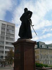 Памятник адмиралу Федору Ушакову.