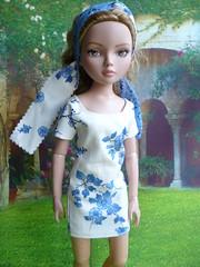 Ellowyne : bleu comme le ciel (Le petit atelier de Valentine) Tags: new york paris robert fashion amber doll wilde londres week cami lizette poupée tonner américaine ellowyne