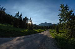Dirt Road sunset (m01229) Tags: unitedstates jackson wyoming d7000