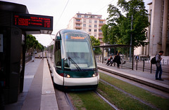 LCA Portra 400 15 (flyingfader) Tags: 35mm lomo lca lomography tram strasbourg portra kodakportra400 v700 epsonv700