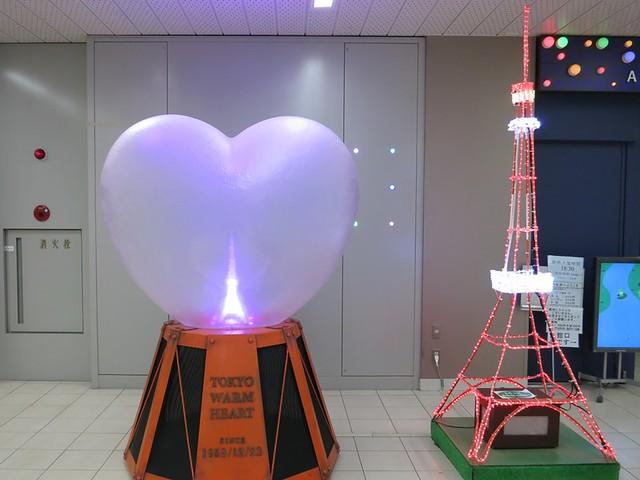 東京タワー水族館の入り口横に、こんなかわいい東京タワーが。 東京タワー