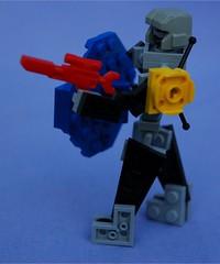 Stick Figure Mk.2 (Mantis.King) Tags: lego mecha mech moc microscale kreo mechaton mfz mf0 mobileframezero brickblend
