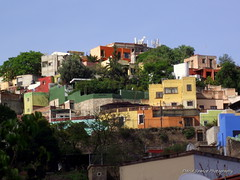 Guanajuato, Mx -  Hillside Homes (D.Spence Photography) Tags: homes mexicocity colours pentax k7 guanaj