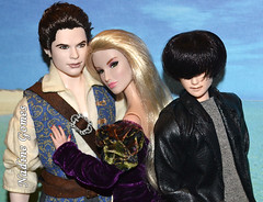 True triangle (Nadine Gomes) Tags: pink color adam fashion toys twilight lab doll g label barbie style joe tommy infusion subject lambert saga royalty emmett collector 2012 integrity the obitsu ratliff