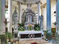Lozzo Atestino, Chiesa dei Santi Leonzio e Carpoforo. Malvestio / L'Organaria (Ivan Furlanis) Tags: pipe organ organo orgel canne orgue tuyaux pfeifen