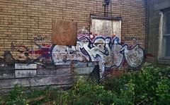 OMER HGK (stateofoppression) Tags: abandoned minnesota graffiti tag minneapolis omer piece mn syr hgk minnesotagraffiti mngraffiti