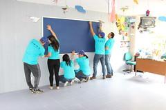 Hilton Bogota Volunteers Install Classroom Cork Boards (HiltonWorldwide) Tags: corporate community day hilton grand week service hotels hampton volunteer conrad vacations embassysuites volunteerism hiltonhhonors doubletreebyhilton hiltonworldwide hiltonhotelsandresorts travelwithpurpose