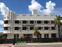 Claremont Hotel Construction And Remodeling (Phillip Pessar) Tags: art beach hotel florida miami south deco sobe
