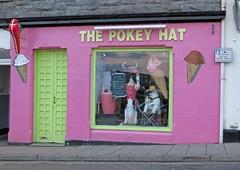 The Pokey Hat (RoystonVasey) Tags: bear sea ice hat shop canon bay scotland cow harbour cream powershot pokey oban polar lorn hs firth kerrera sx260