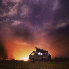 Another frame from last night, this time with a car coming. #vw #vwt3 #vanagon #westy #westfalia #peru #vanenvan (jbuhler) Tags: from peru car vw night last this with time frame another coming westy westfalia vanagon vwt3 instagram ifttt vanenvan