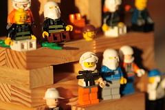Lego Juxtaposition (Bay70) Tags: life summer england macro toy toys star model lego secret wars figurine tamron 90 vignette f28 2013