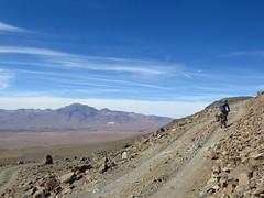 Riding high on Uturuncu (Pikes On Bikes) Tags: high hiking altitude bikes bolivia biking pikes sud volcan lipez uturuncu