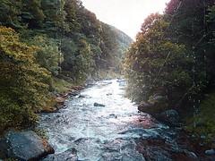 Nostalgic river shot