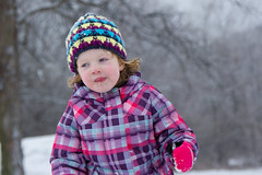 Sled Riding 2013-25 (TheDarrenSharp) Tags: winter evelyn 3yearsold sledriding