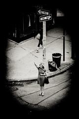 """Hailing""  a cab (Cranamanor13) Tags: newyork way one manhattan cab taxi hailing andrewwilson"