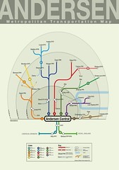 If My Family Was a Metro System (Mikael Colville-Andersen) Tags: family train subway design graphicdesign graphic metro map transit andersen tog kort
