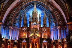 52/52 of 2013 - My favorite shot of 2013 (lorainedicerbo) Tags: trip travel vacation canada church quebec montreal theme notredamedemontreal 5252in2013 favoriteof2013