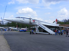 3003 - Concorde - DSCF7905 (Call the Cops 999) Tags: uk united kingdom gb great britain england brooklands museum weybridge surrey bank holiday monday 6 may 2013 emergency services day british airways concorde gbbdg stripe aircraft aeroplane aviation