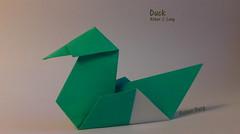 Duck (Laangen) Tags: robert berg duck origami ente rainer papier lang   laangen