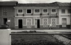 Casa Murillo (Michael Evans) Tags: blackandwhite bw rural town colombia colonial farmer tradition poncho murillo tolima