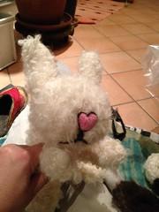 Frosty The Snowman (herbe_d) Tags: snowman felting filzen arteducation winterseason feltseminar