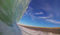 (wademcmillan) Tags: california blue winter sea sky seascape black green beach nature water wall clouds freedom los toes surf break power angeles action empty tube barrel fast wave clean hd shallow hollow glassy shorebreak waterhousing gopro vision:outdoor=0976 vision:clouds=0809 vision:sky=0917