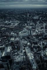 London Cityscape (Stephen Champness) Tags: city building architecture nikon shard hdr londo nikond3200 photomatix nikon1855mm adobelightroom4 theviewfromtheshard