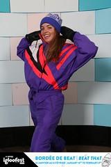 14ige1295 (onesieworld) Tags: party snow ski fashion one shiny retro suit 80s piece nylon 90s attire