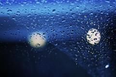 Intermittent perception (Jazzyblue TR) Tags: road rain canon golden drops day bokeh headlights windshield wiper 50mmf18 rebelt1i