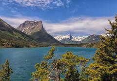 Cruising St. Mary Lake (Phil's Pixels) Tags: montana stmarylake glacierpark littlechief dustystarmountain fusillademountain cruiseboatlittlechief
